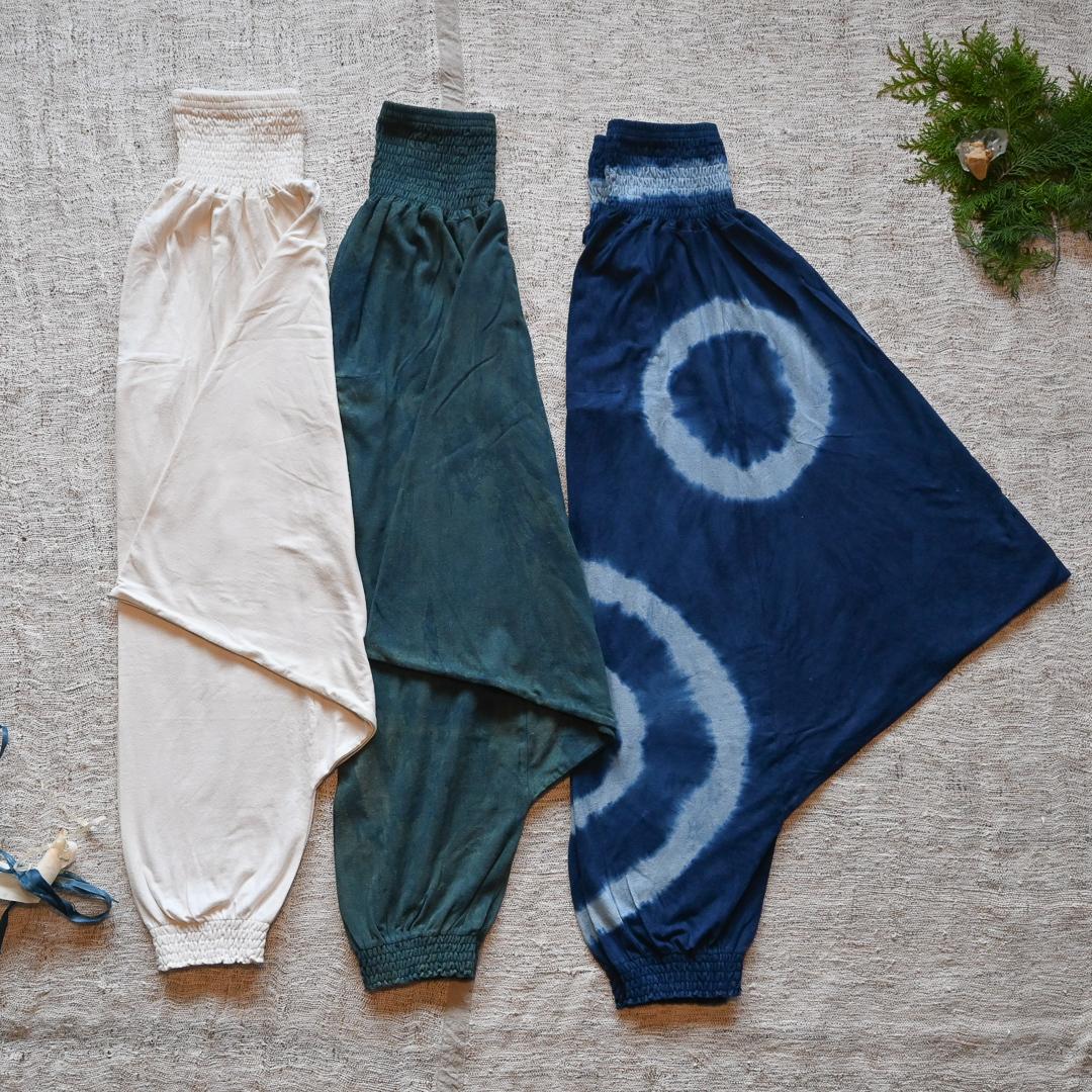 【先行販売価格】 ∞Momonga pants∞ ヘンプコットン