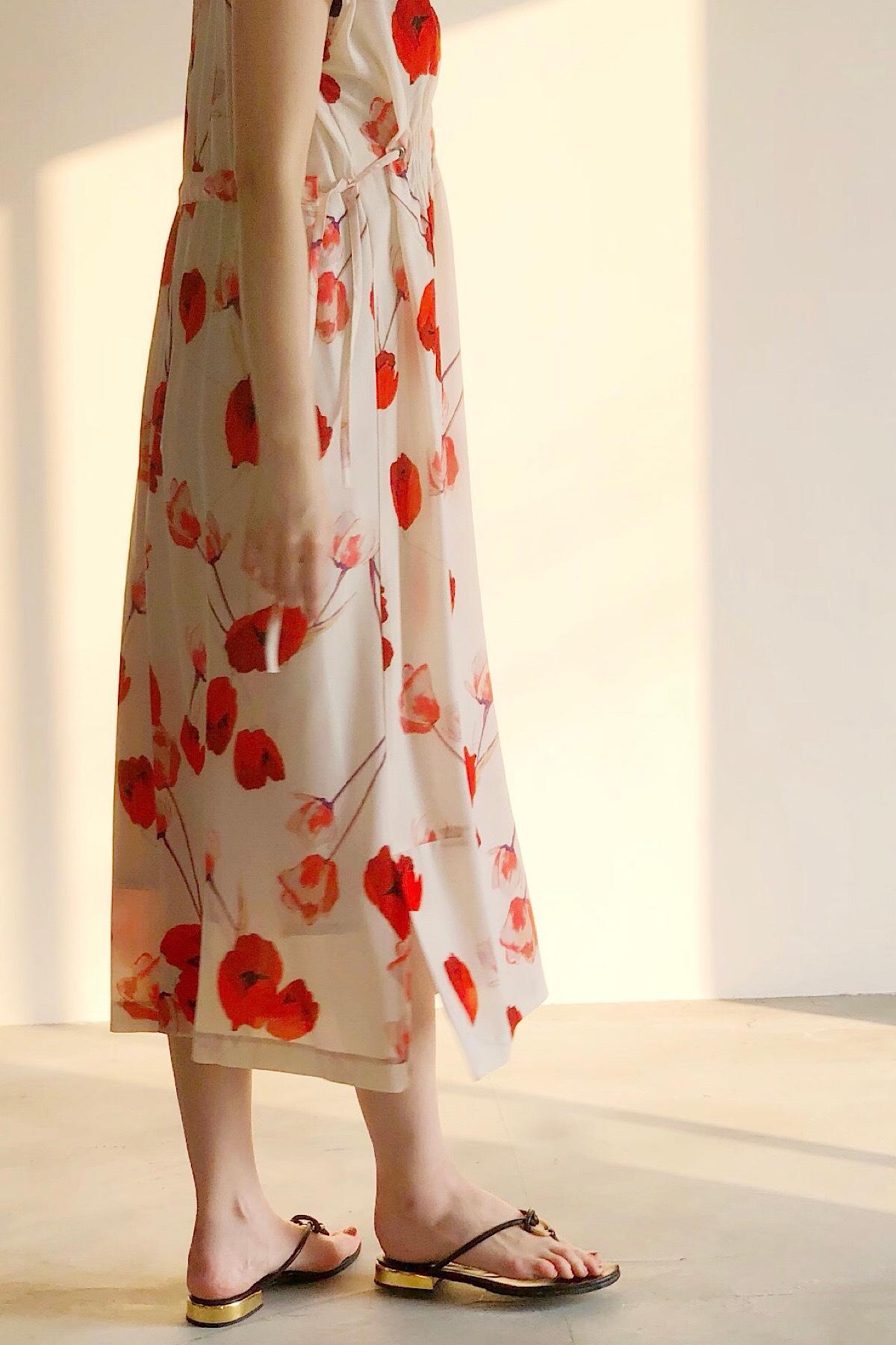 フラワープリントドレス  <OFF>