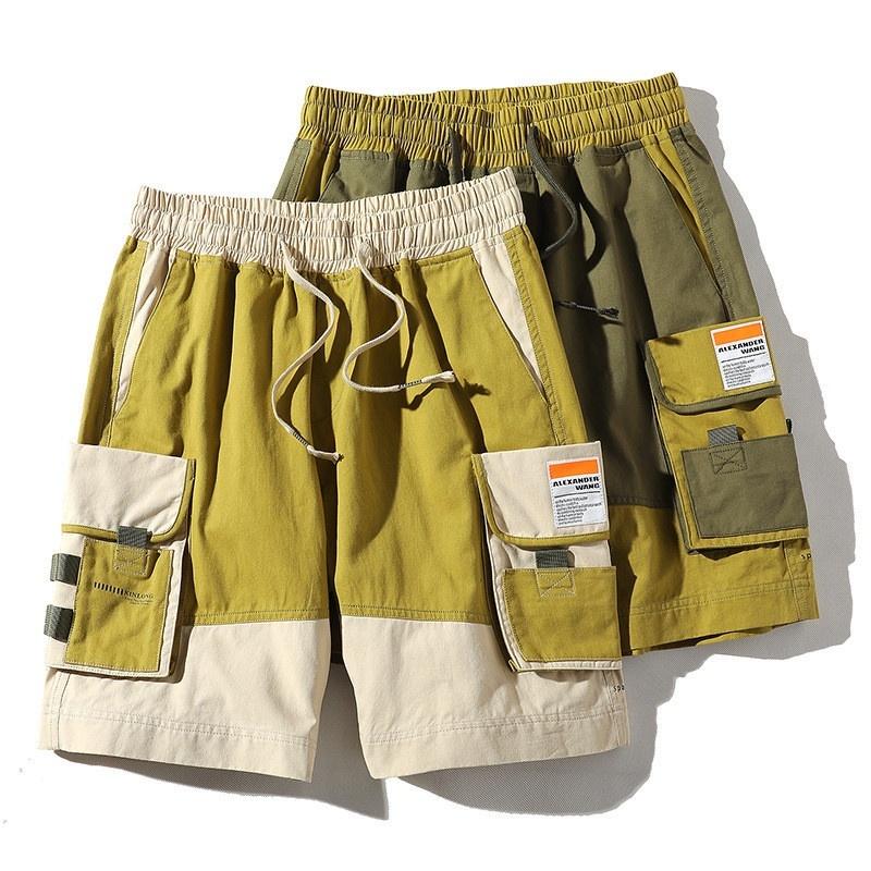 【MEN'S】アウトドア マルチポケット カーゴショーツ ショートパンツ【2colors】MN-A0104