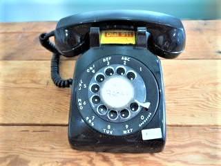 品番0613 ヴィンテージ電話機 ダイヤル式 011