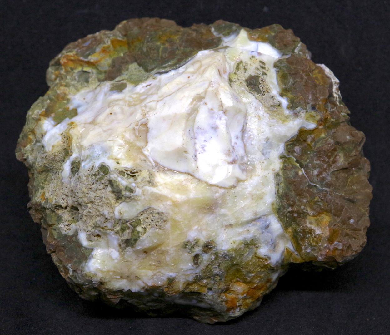 サンダーエッグ オパール 瑪瑙 原石 128,6g THE001