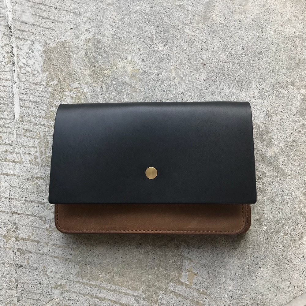forme Hand wallet combi Buttero Black