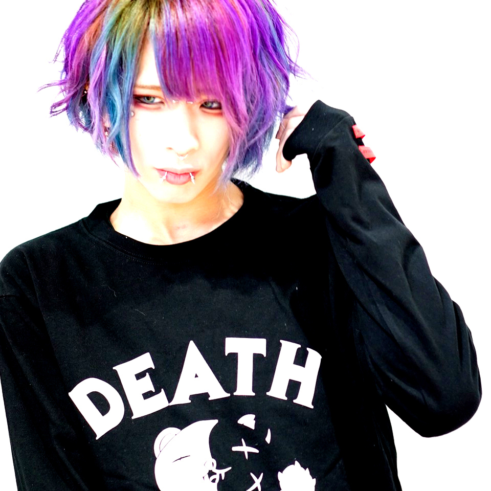 【DEATH】LONG SLEEVE T-SHIRTS【BLACK】