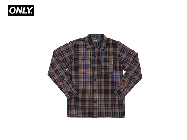ONLY NY|Mulberry Flannel Shirt