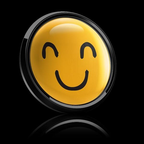 ゴーバッジ(ドーム)(CD1087 - EMOJI SMILE HAND DRAWING 2) - 画像4