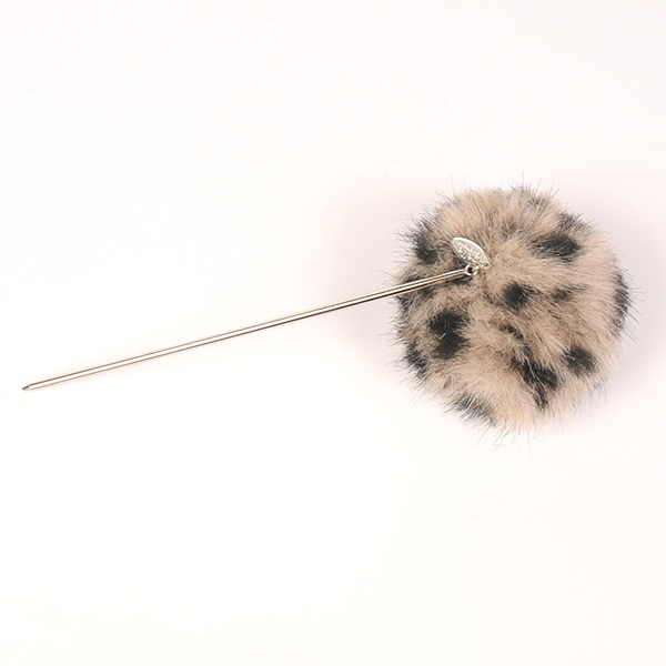 Joe17AW-20 animal fur hair pin