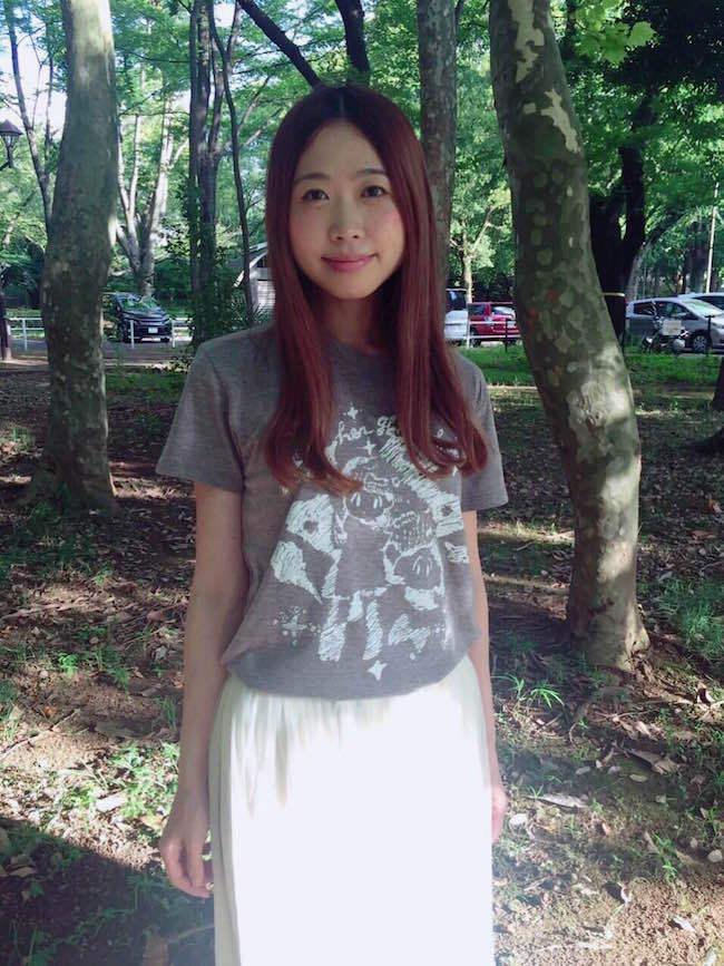 Her Ghost Friendのコスモ☆Tシャツ(ヘザーブラウン) - 画像4