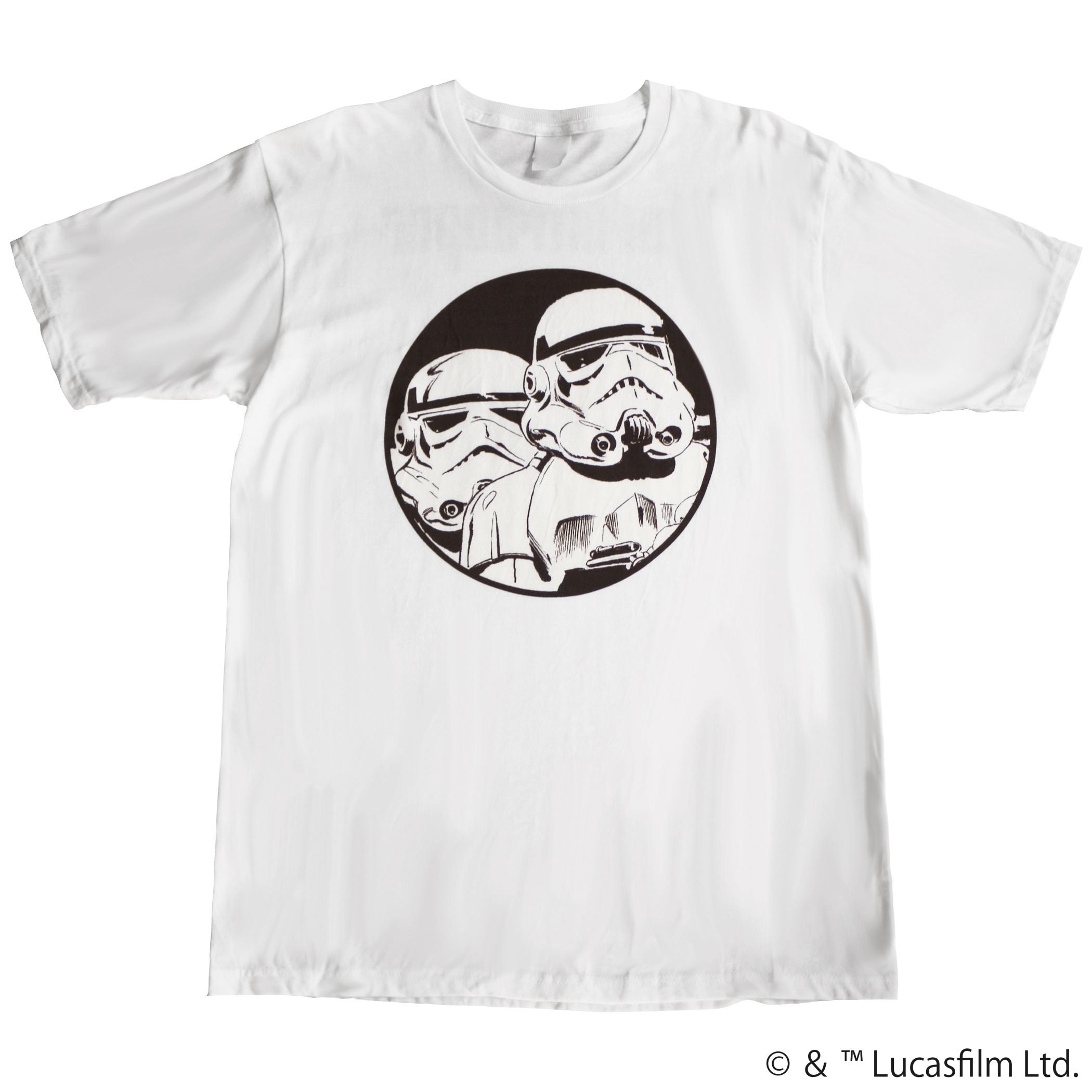 【スター・ウォーズ】ストームトルーパー 両面プリントTシャツ