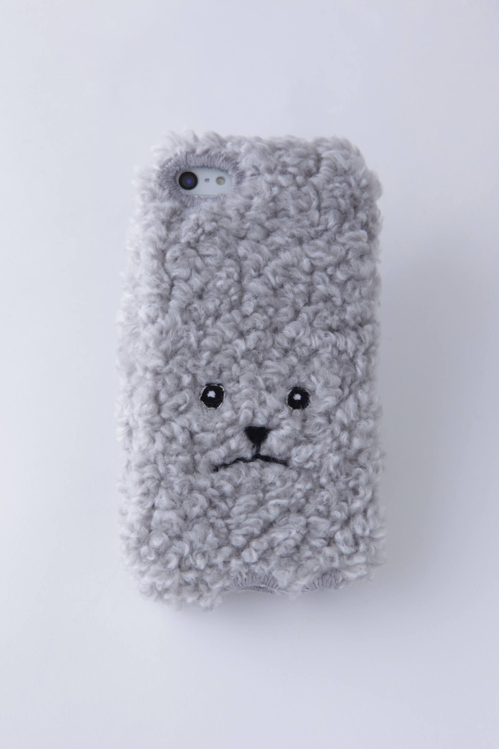 トイプードルiPhone6カバー(mix) 【グレー】