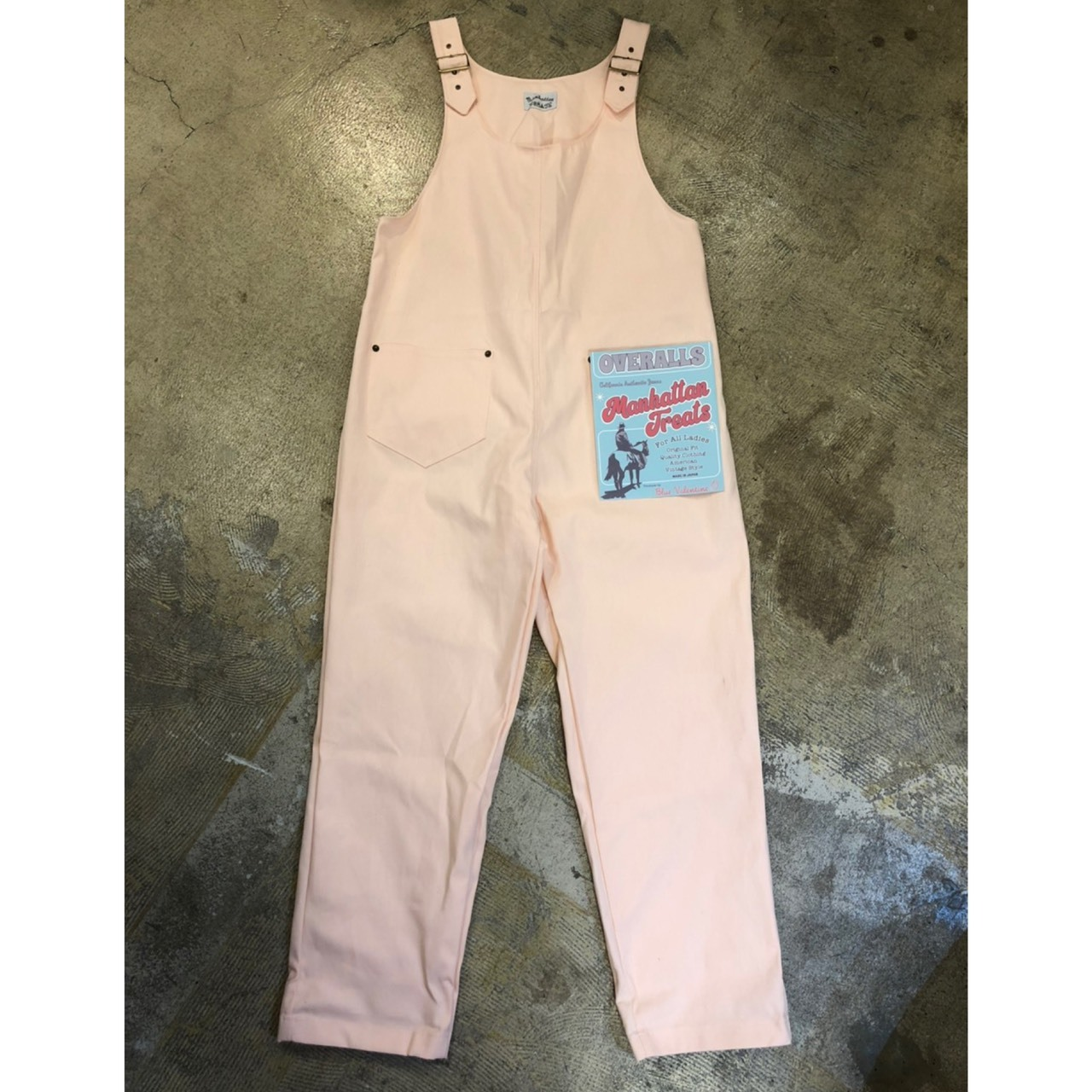 MANHATTAN TREATS #Meagan Canvas Overalls