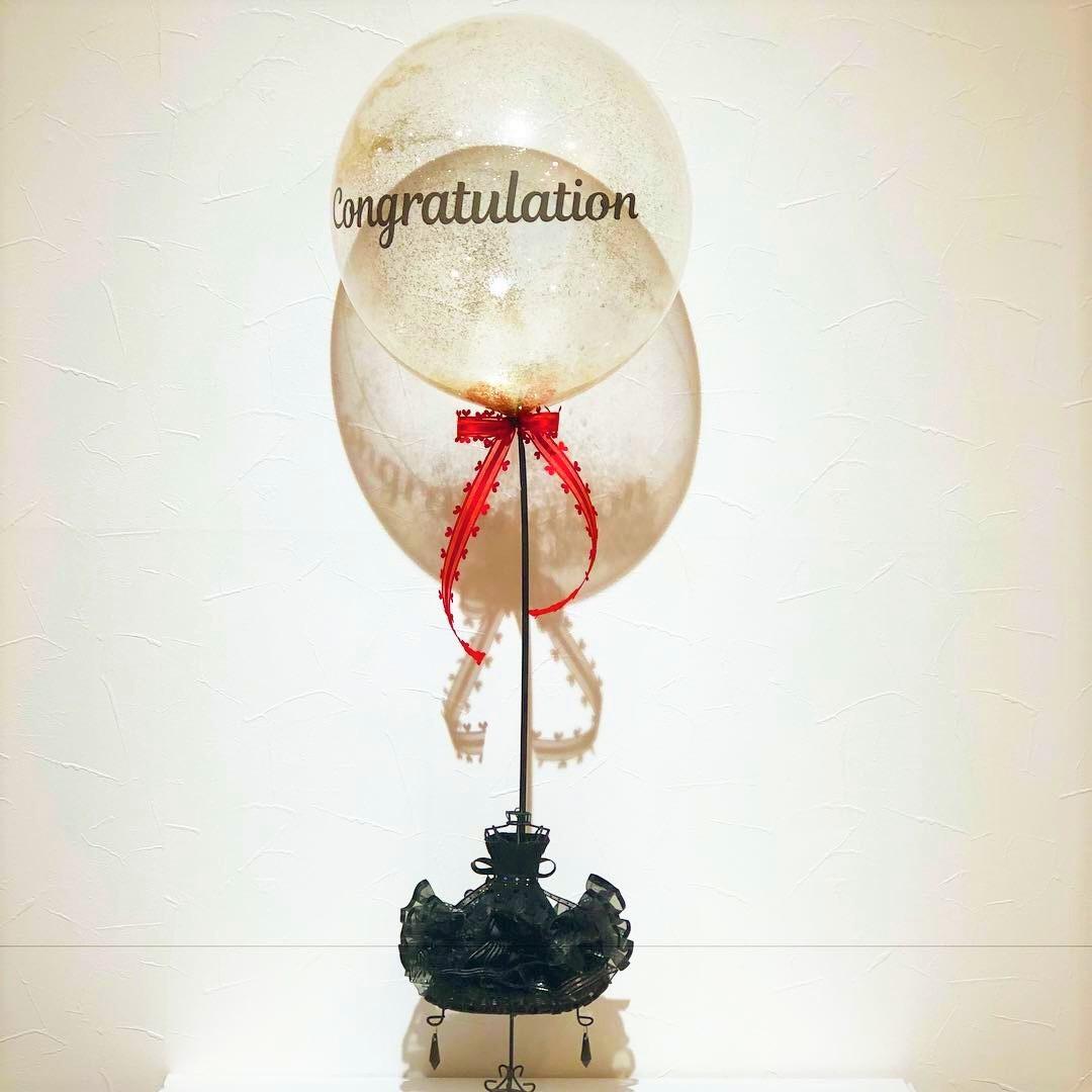 T-Balloonコングラチュレーション(リボンドール)