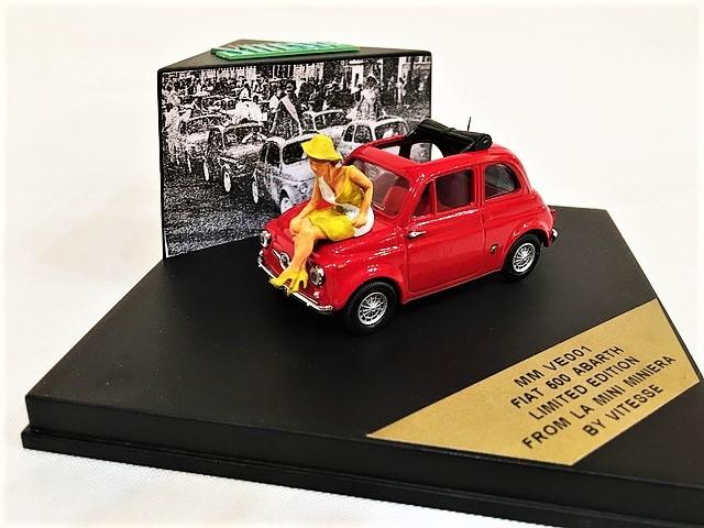 FIAT500 ABARTH LIMITED EDITION 1/43 【VITESSE】【1セットのみ】【税込価格】