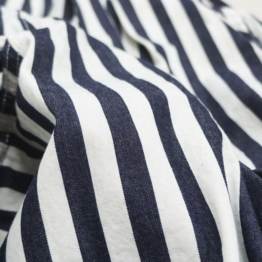 【2020/再入荷なし】 HARVESTY ハーベスティ INDIGO STRIPES CIRCUS PANTS インディゴストライプサーカスパンツ 正規取扱店 (品番a11911)
