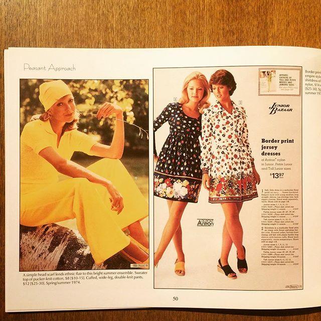 ファッションの本「Fashionable Clothing from the Sears Catalogs: Mid-1970s」 - 画像2