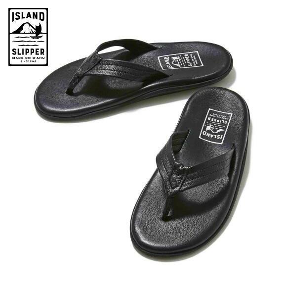 アイランドスリッパ メンズ サンダル トング ISLAND SLIPPER PT202 BLACK 正規取扱店