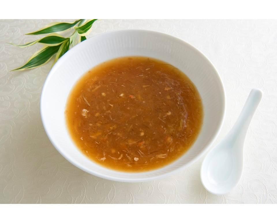 冷凍蟹肉入りふかひれスープ(200g) - 画像1