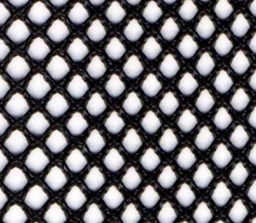 メッシュ生地  ハードハード/ハードソフト 黒 50m単位