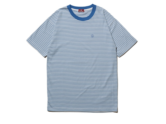 HELLRAZOR|h STRIPED SHIRT - BLUE