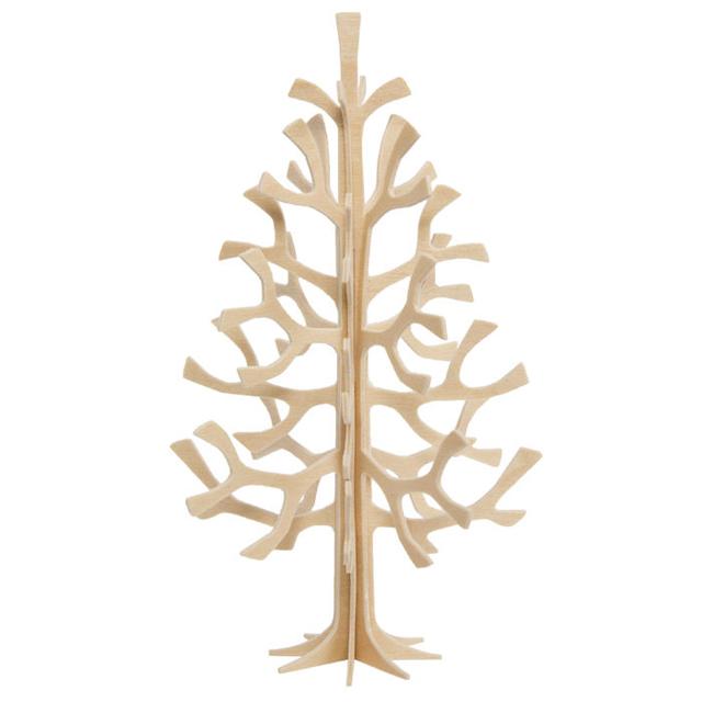 LOVI ロヴィ クリスマスツリー 14 cm ナチュラル(LVLOMXTREE14)