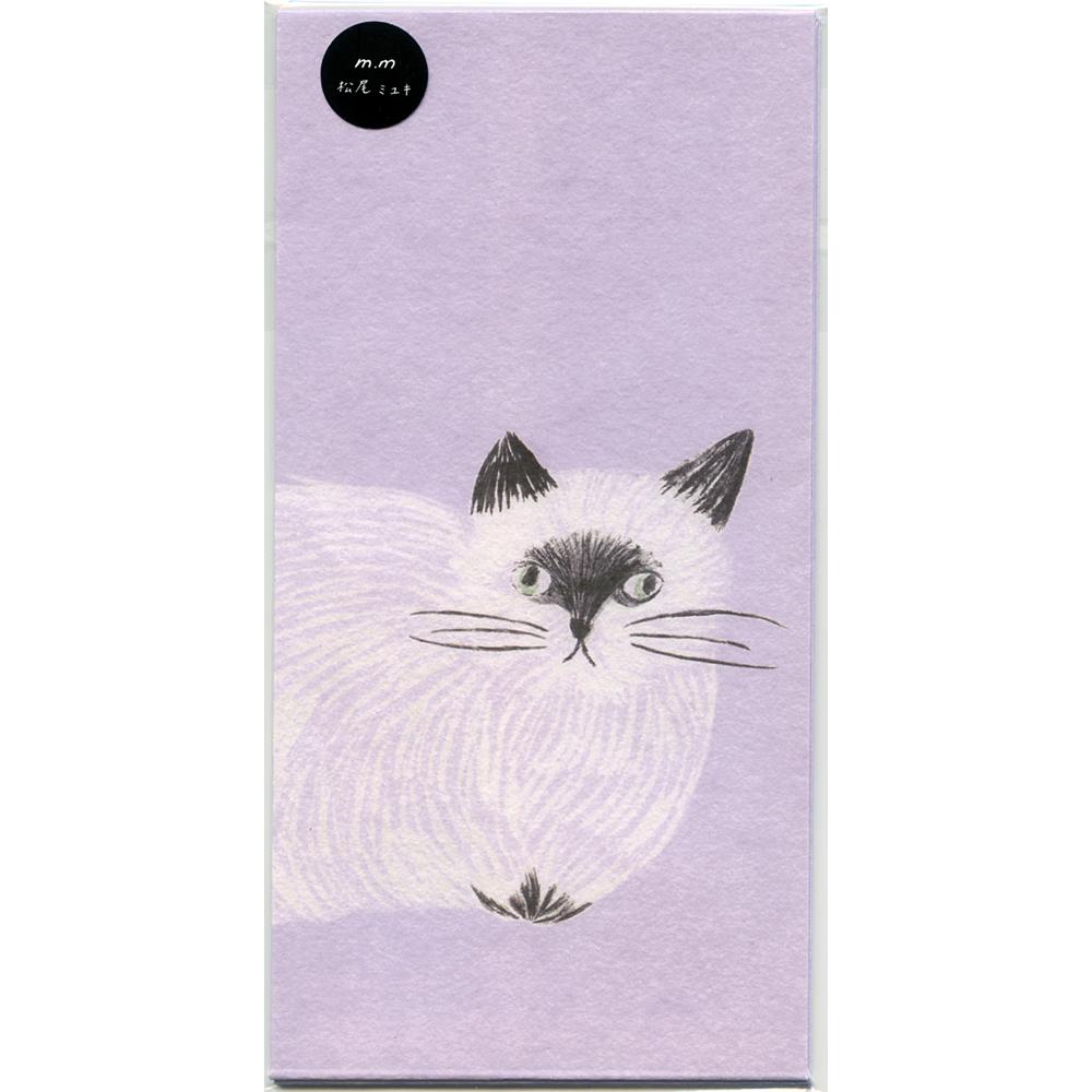 猫ぽち袋(MatsuoMiyuki)L