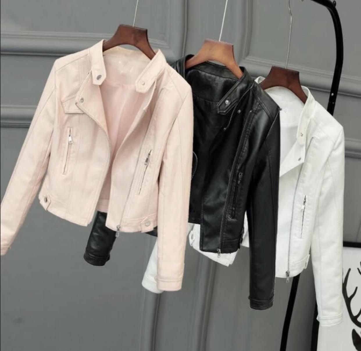 フェイクポケットライダースジャケット/3色展開/S〜XL