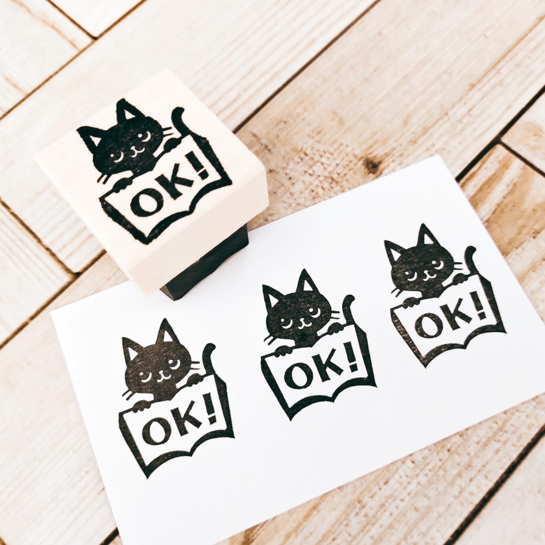 黒猫ノート大「OK!」