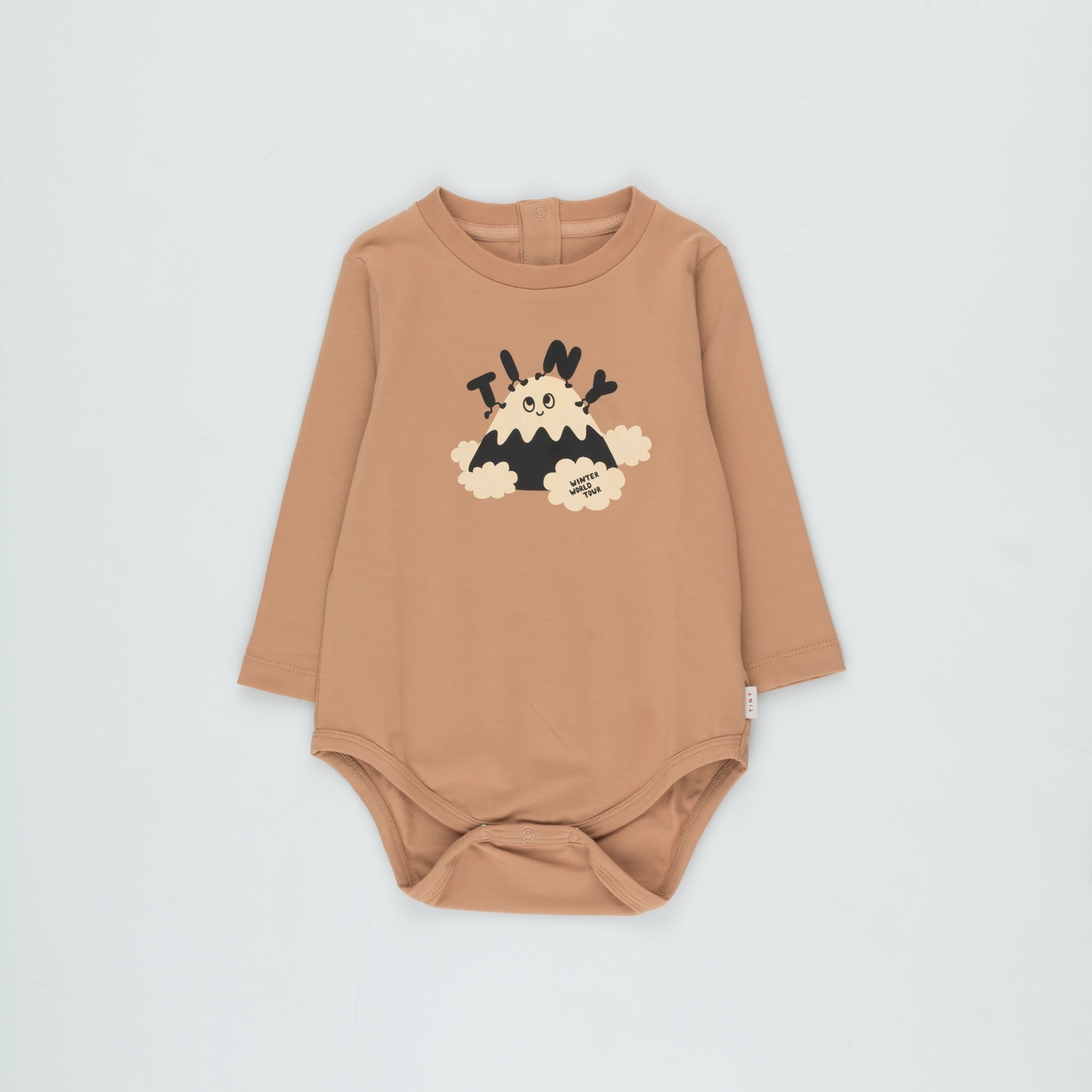 《TINYCOTTONS 2020AW》TINY FUJI BODY / tan × cream