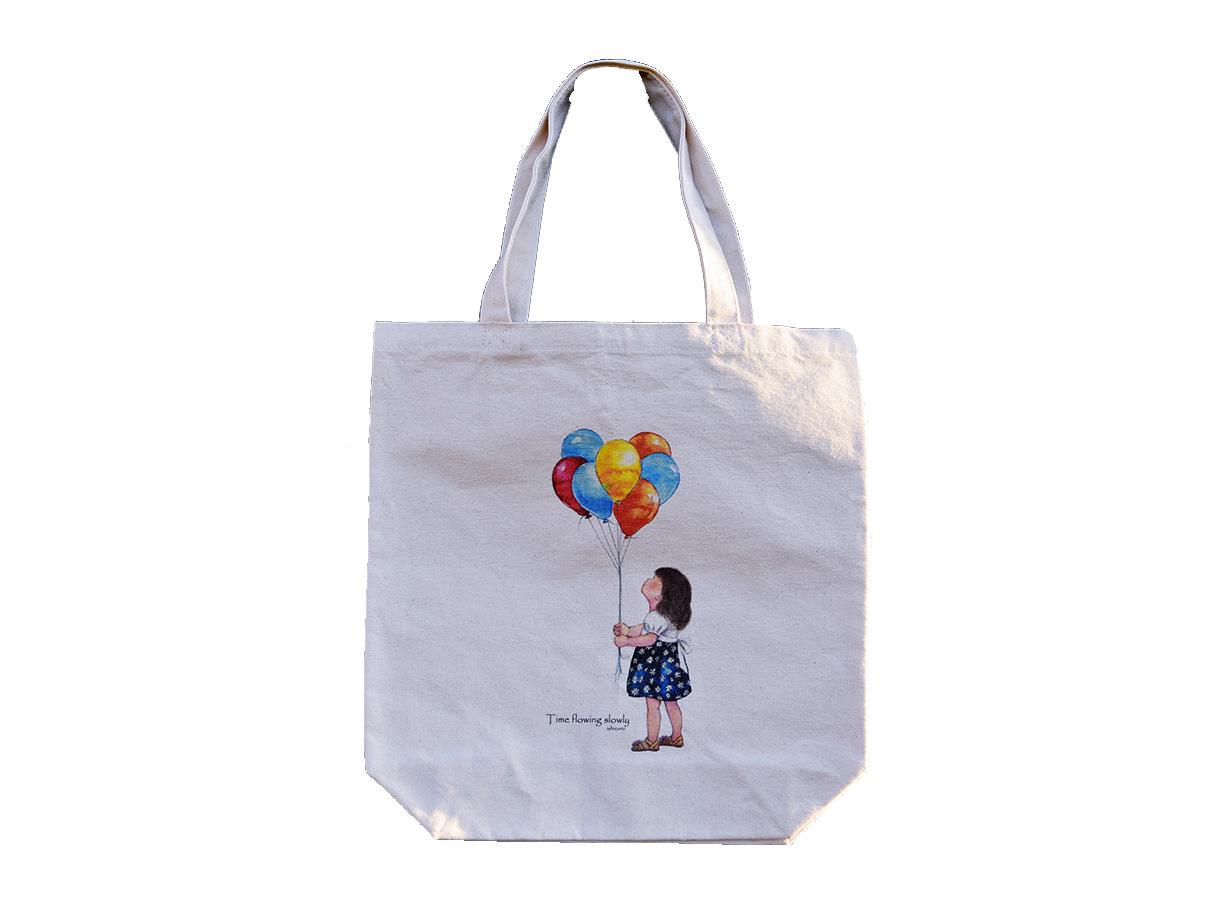 トートバッグ 「私の風船」