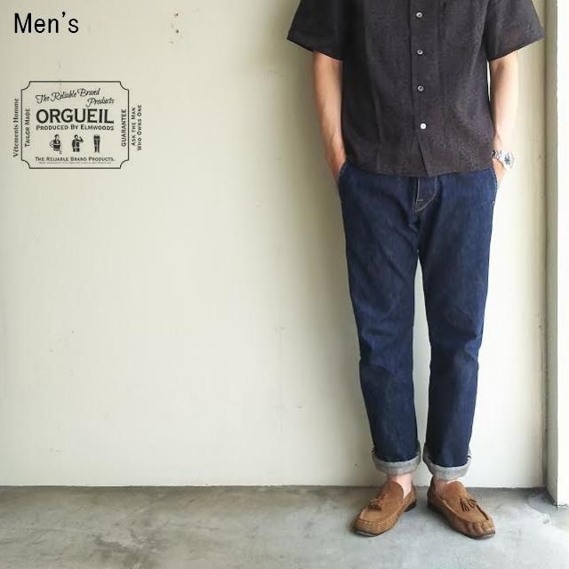 ORGUEIL デニムトラウザー ERAL55 Denim Trousers  OR-1006 【Men's】