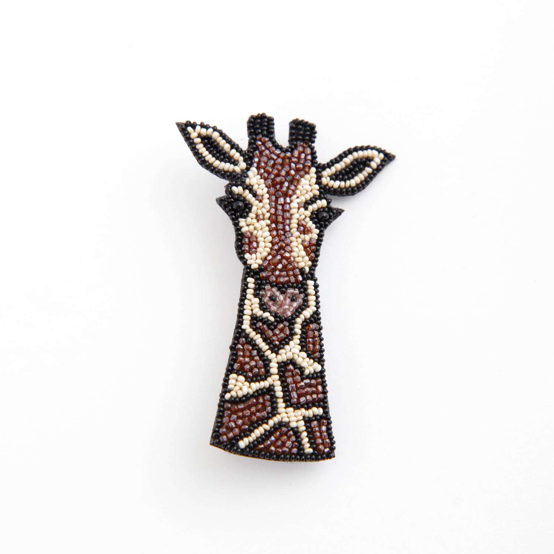 Môko Kobayashi/Girafe ブローチ