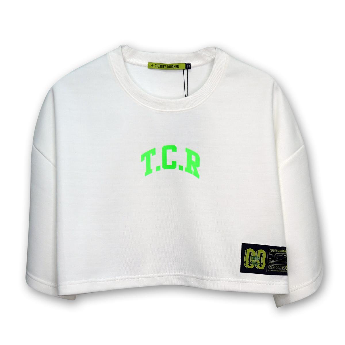 TCR SHORT LENGTH TEE - WHITE