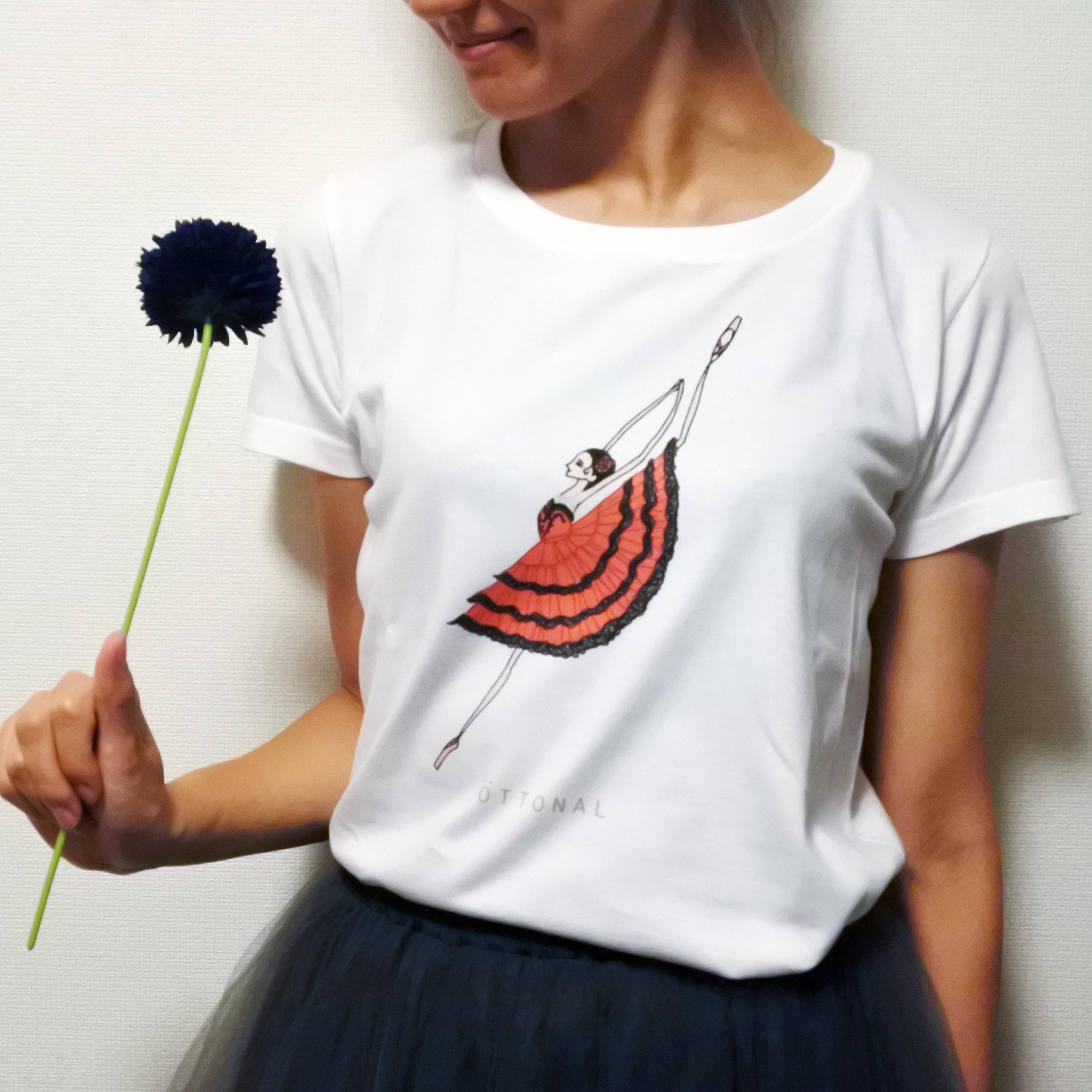 キトリ Tシャツ(レディース) - 画像1