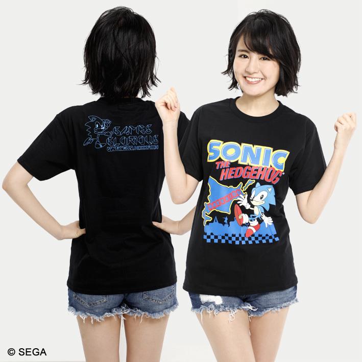 SONIC THE HEDGEHOG x HOKKAIDO Tシャツ / 全3色