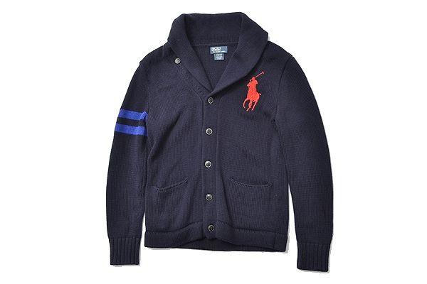 Ralph Lauren sizeM(10-12)big pony /cardigun polo