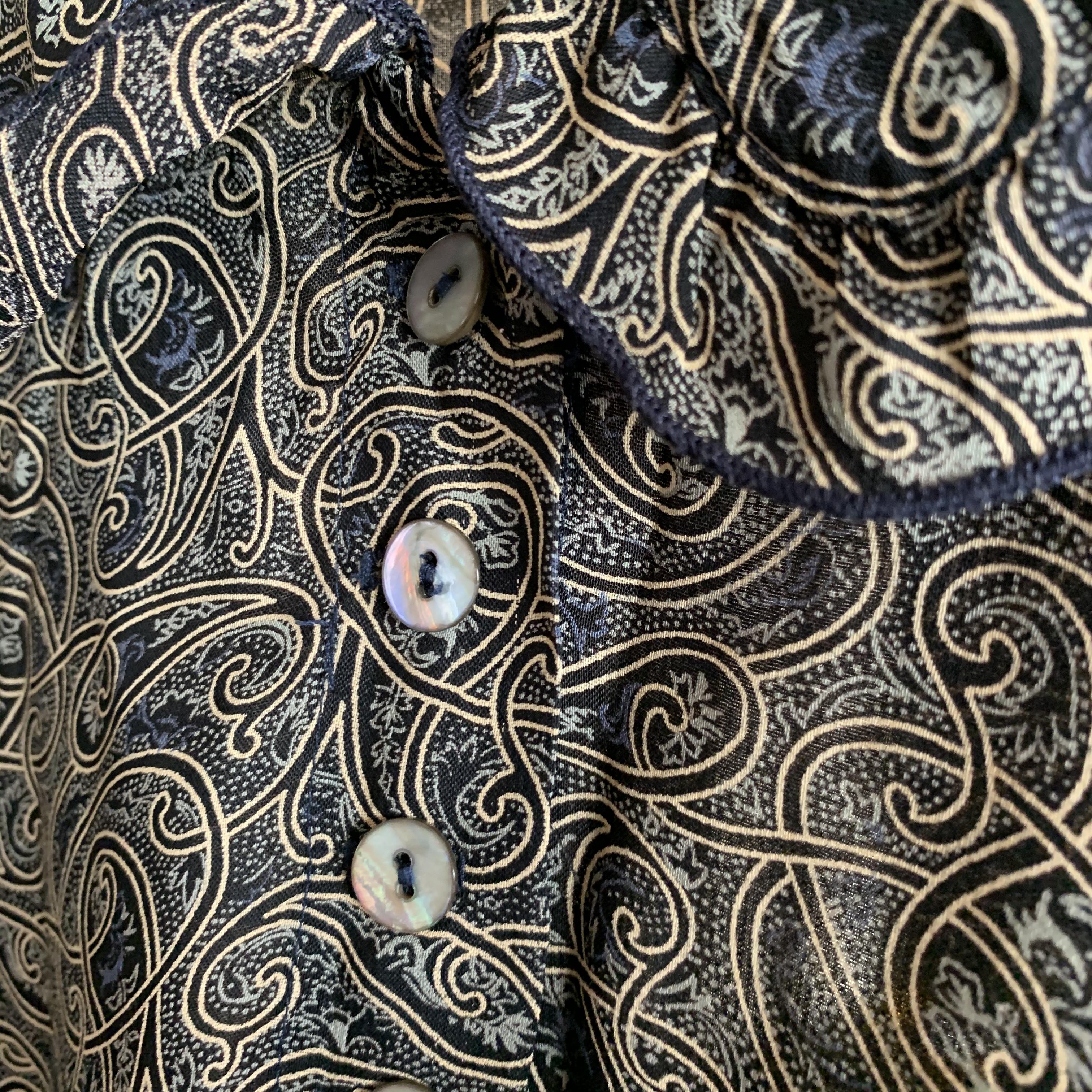 vintage USA shell button design onepiece
