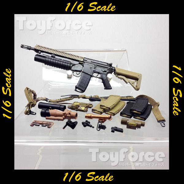 【02980】 1/6 DAMToys SOPMOD M4 RISII w// M203