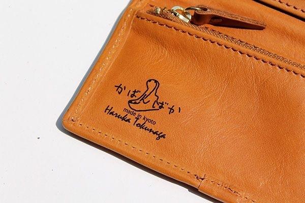 名前を入れられる小銭が出しやすい牛革の長財布