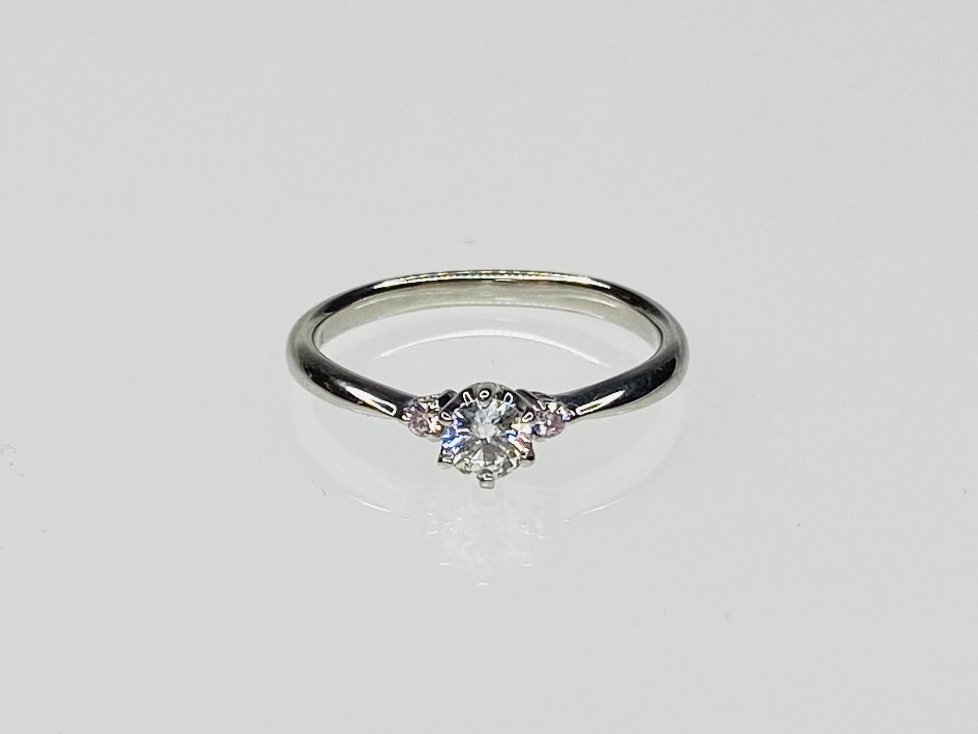 PT900 0.221ctダイヤモンドリング ○