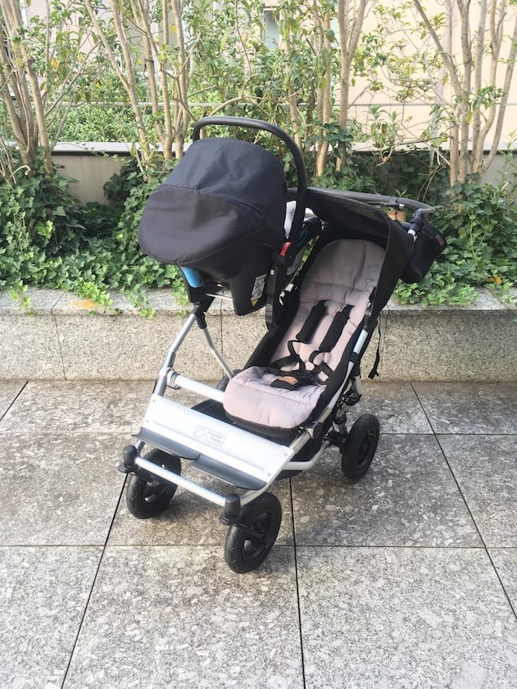 mountain buggy  duet 専用カーシートアダプター CLIP28 マウンテンバギー