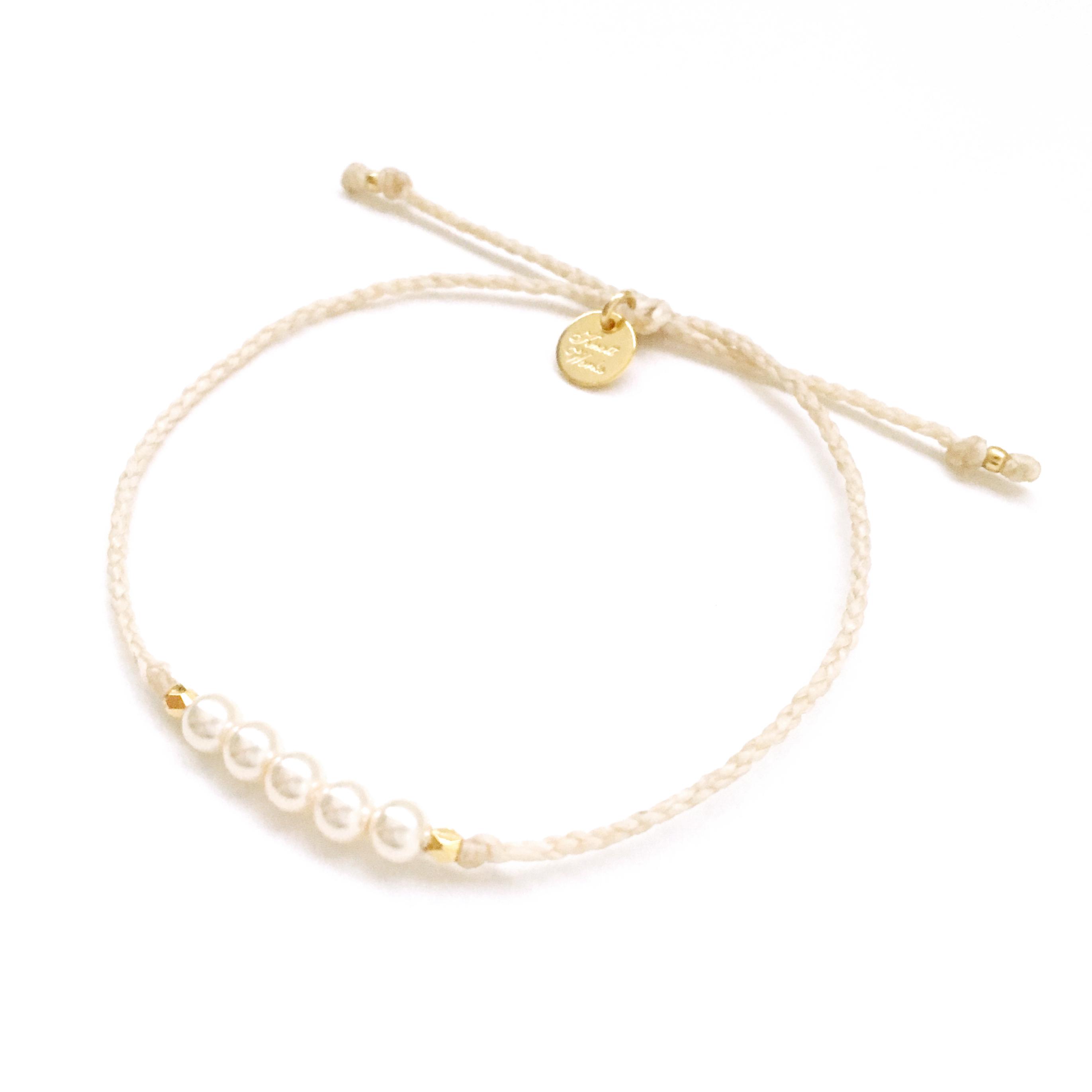 Pearl Bracelet / White [パールブレスレット]