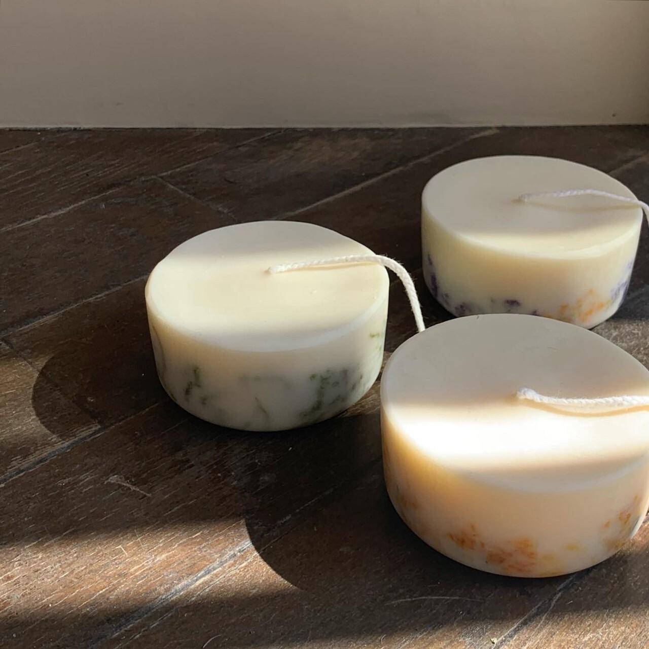 """"""" Natural soy wax mini candle / ソイワックス ミニキャンドル """""""