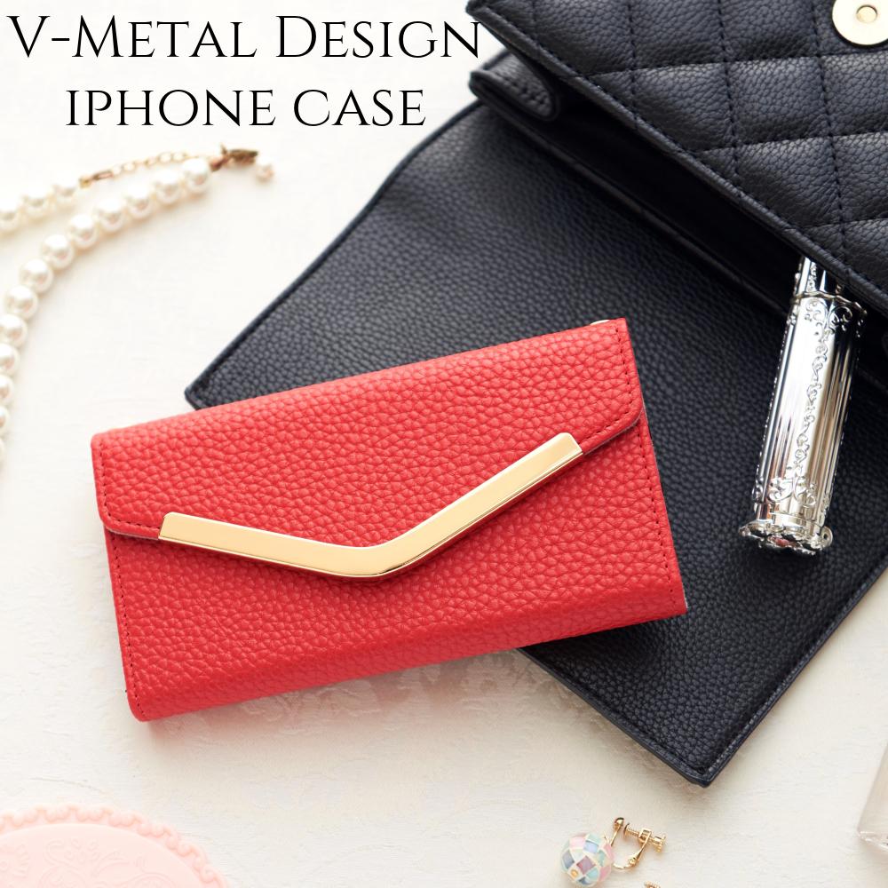 iphone 11Pro ケース 手帳型 かわいい iphone 11 カバー iphone8 iphonexXs iphoneXR おしゃれ シンプル スマホケース アイフォン 11 プロ 大人 可愛い レッド
