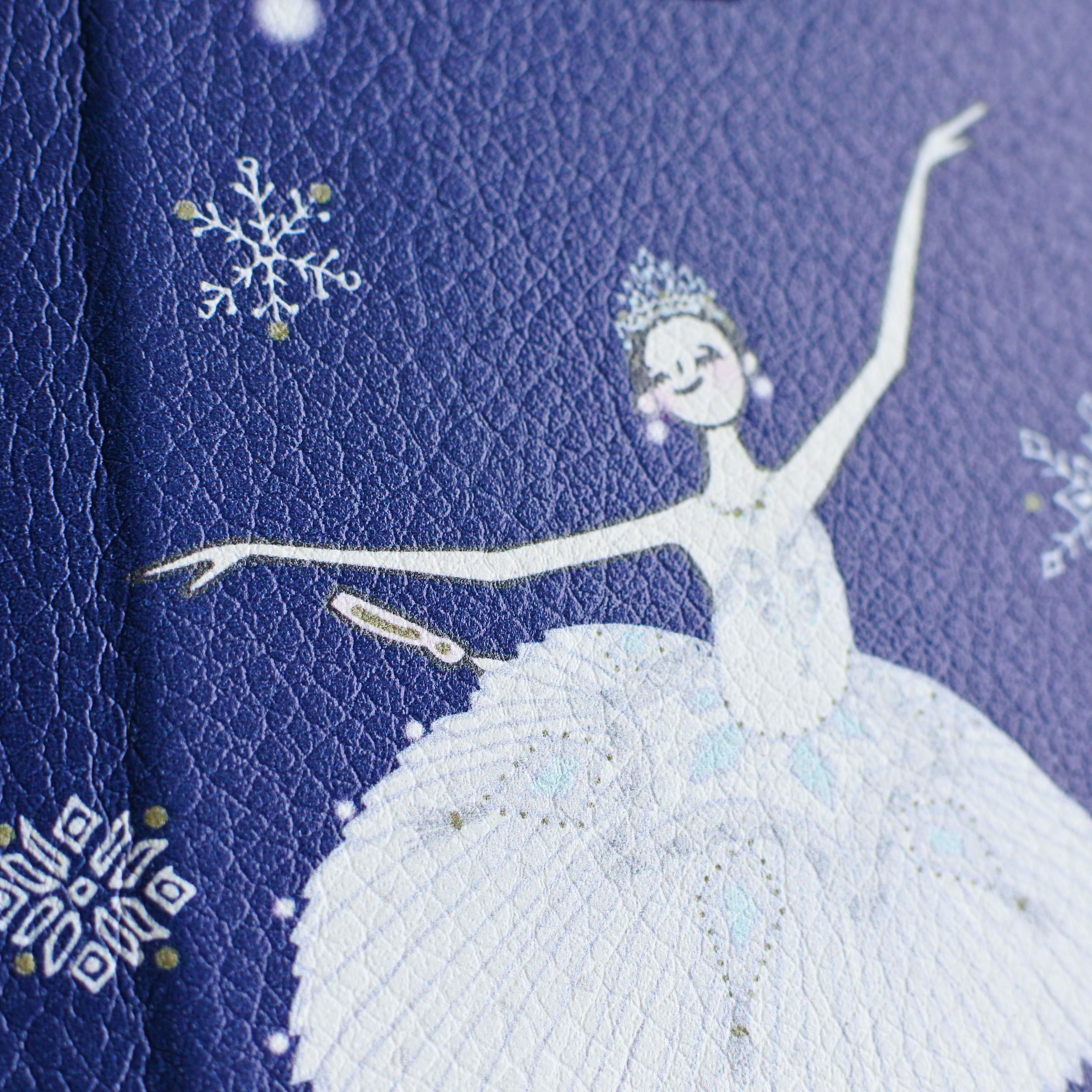 (iPhone)雪の女王 手帳型スマホケース - 画像3