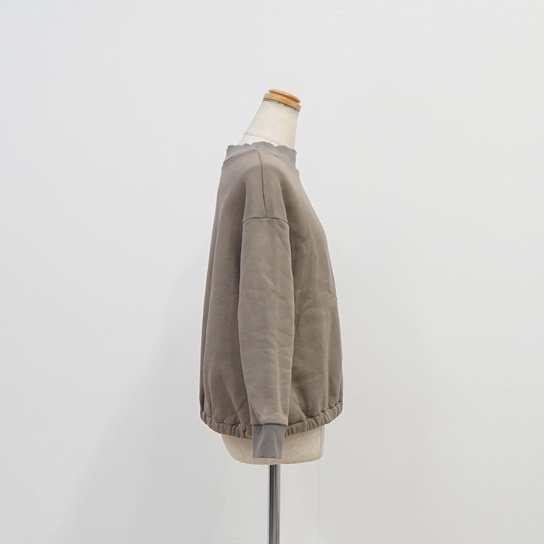 NARU ナル デラヴェアンティーク裏毛起毛プルオーバー  (品番635005)
