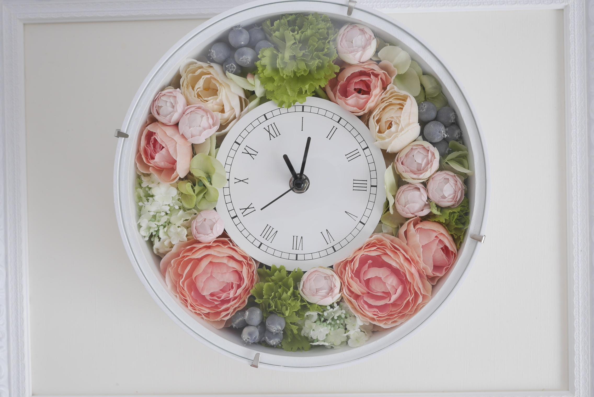 セミオーダー選べる花時計