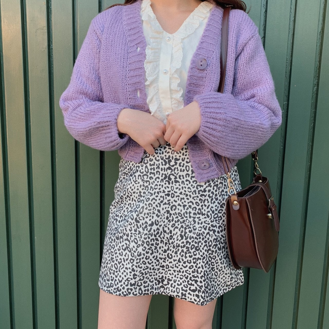 Candy knit cardigan