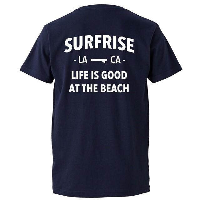 LIFE IS GOOD Tee - Navy