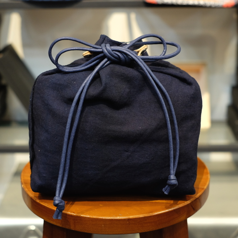 KUON(クオン) 襤褸・エルメスヴィンテージスカーフ 信玄袋(巾着袋) その3