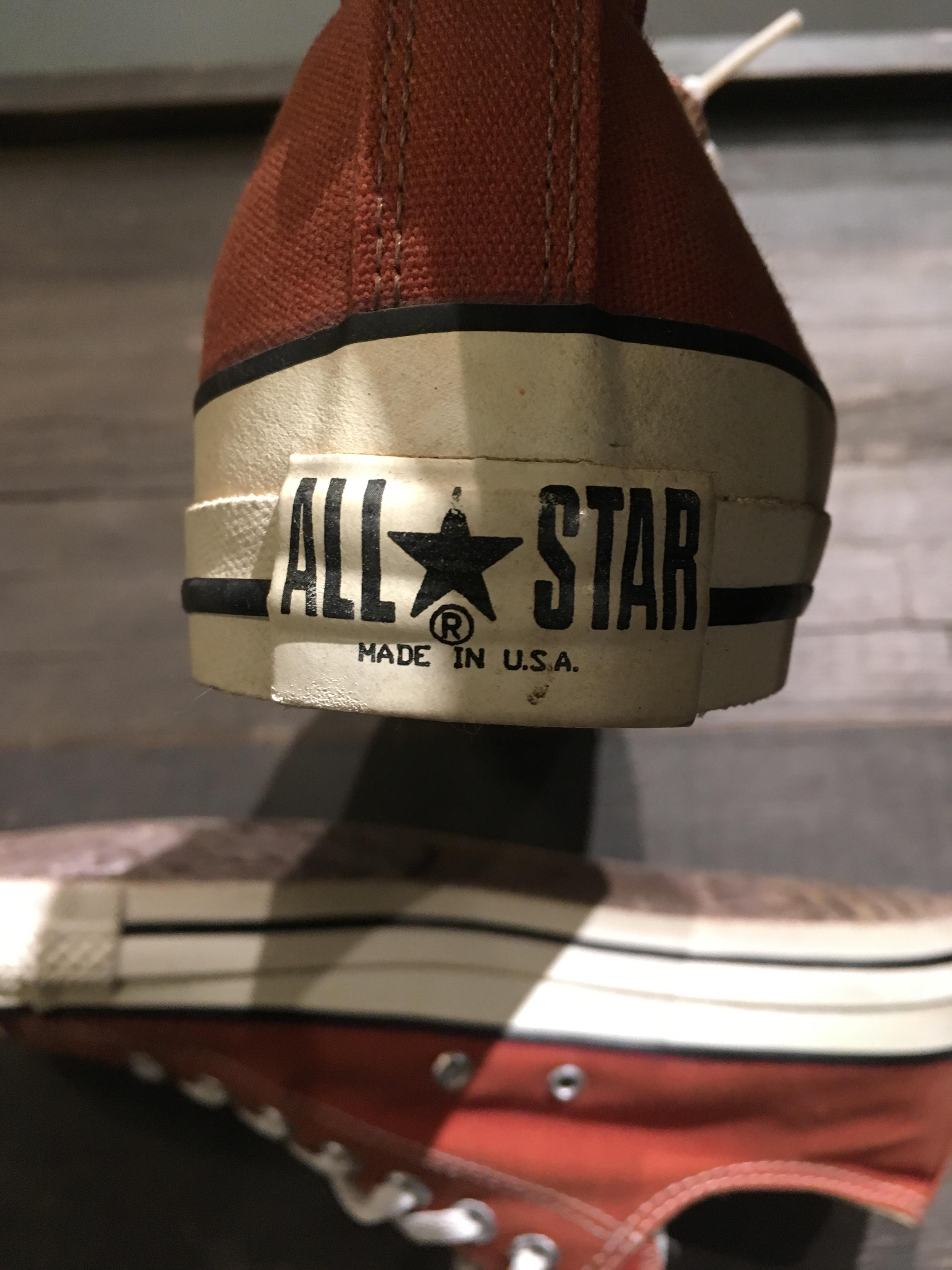 CONVERSE ALL STAR U.S.A ヴィンテージスニーカー
