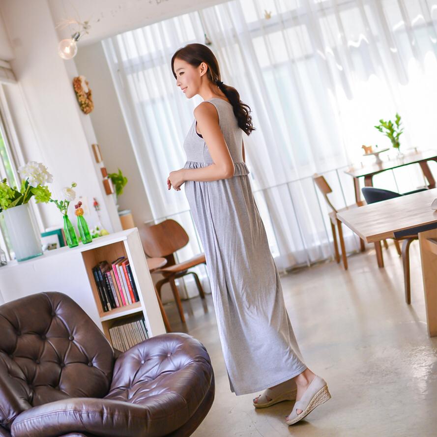 マタニティウェア【ワンピ】妊婦服 ワンピース 授乳口ファスナーあり M/Lサイズ
